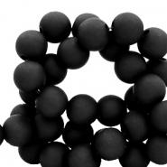 Acryl kralen 8mm zwart