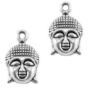Bedel Buddha zilver