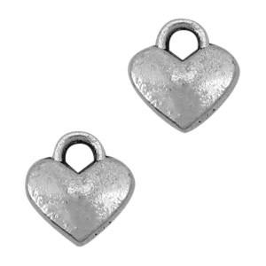 Bedel hart klein zilver