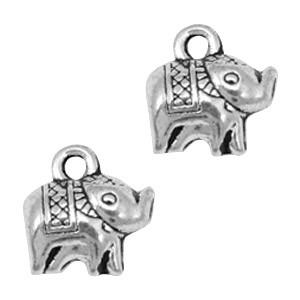 Bedel olifant zilver