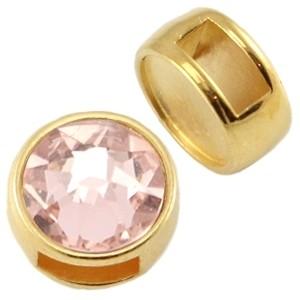 DQ schuiver goud voor 7mm steen