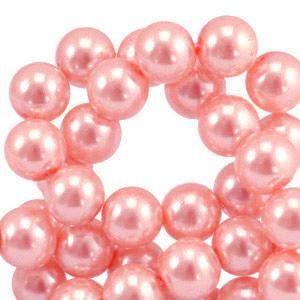 Glasparels 4mm pink