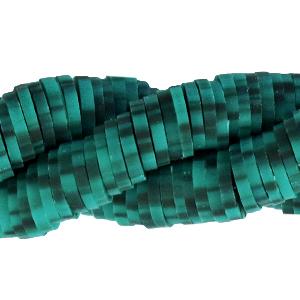 Katsuki kralen 6mm vivid bluish green