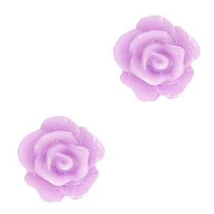 Kraal roosje sheer lilac purple