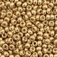 MIyuki rocailles 8/0 duracoat galvanized champagne gold