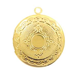 Medaillon goud rond