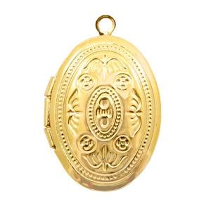 Medaillon ovaal goud