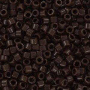 Miyuki delica's opaque chocolate