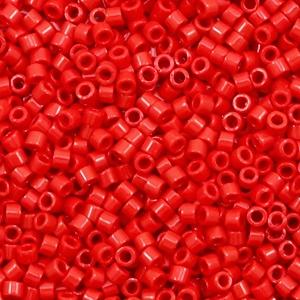 Miyuki delica's 11/0 opaque red