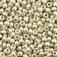 Miyuki rocailles 8/0 duracoat galvanized silver