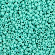 Miyuki rocailles 11/0 opaque turquoise green