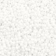 Miyuki rocailles 11/0 opaque white