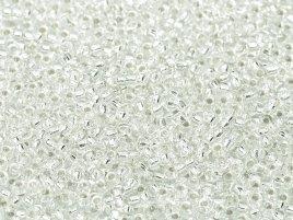 Miyuki rocailles silverlined crystal