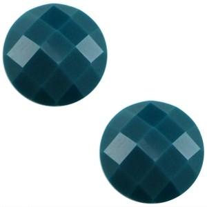 10mm cabochon diep blauw