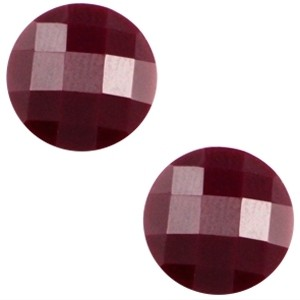 Cabochon 10mm aubergine paars