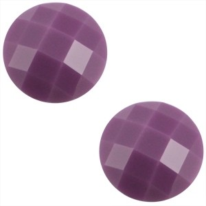 Cabochon 10mm paars