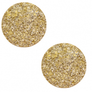 Cabochon 12mm goldstein curry yellow