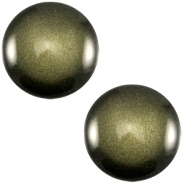 Cabochon 12mm soft tone green