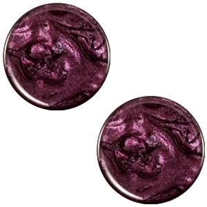 Cabochon 20mm jais purple