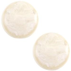 Cabochon 7mm jais aferglow beige