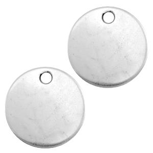 DQ bedel munt blanco zilver