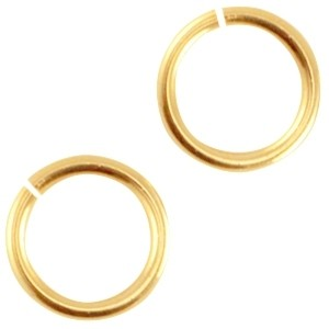DQ buigring 4.5mm goud