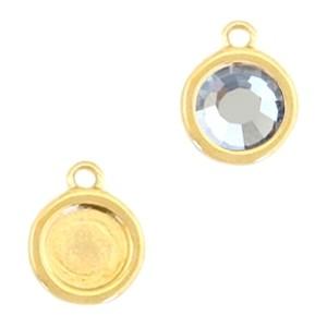 DQ hanger goud voor 4,7mm steen