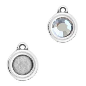 DQ hanger zilver voor 4,7mm steen