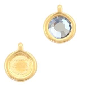 DQ hanger 2.0 goud voor 4,7mm steen