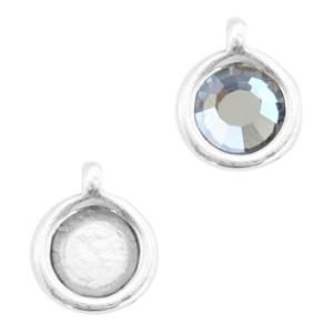 DQ hanger 2 zilver voor 4,7mm steen
