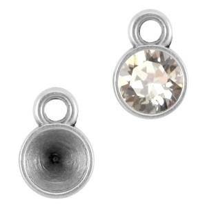 DQ hanger zilver voor 5.2mm puntstenen