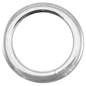 DQ tussenstuk dichte ring zilver
