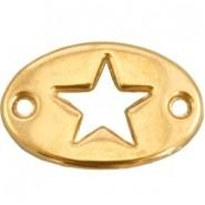 DQ tussenstuk ster goud