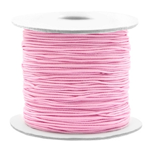 Elastiek 0.8mm light pink