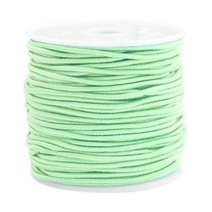 Elastiek 1.5mm crysolite green