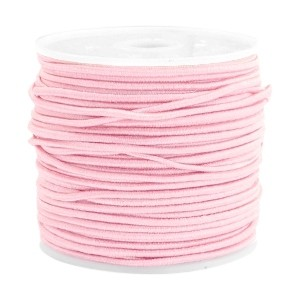 Elastiek 1.5mm light rose