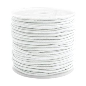 Elastiek 1.5mm white