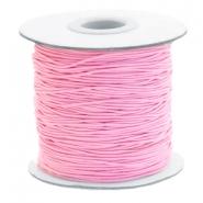 Elastiek 1mm pink