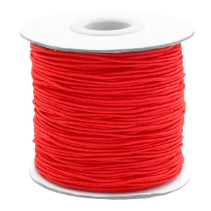Elastiek 1mm red