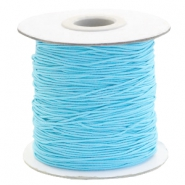 Elastiek 1mm sky blue