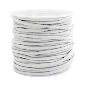 Elastiek 2.5mm beige grey