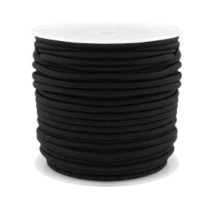 Elastiek 2.5mm black