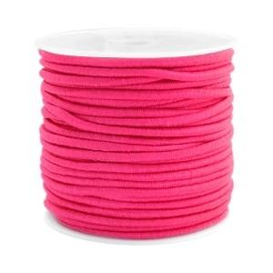 Elastiek 2.5mm fuchsia pink