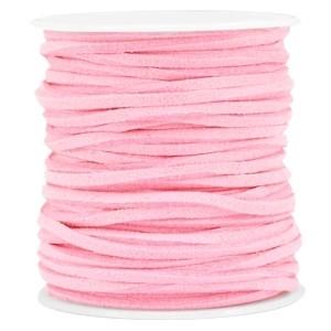 Imitatie suède 3mm pink