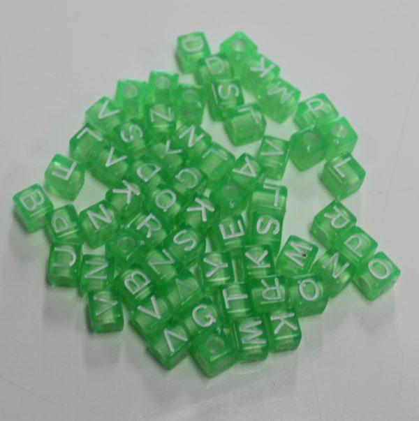 Letterkralen groen