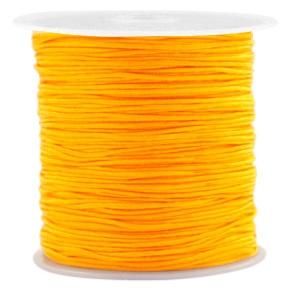 Macrame draad 0.8mm warm yellow