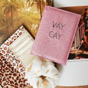 Paspoorthoesje VAY CAY roze sfeer
