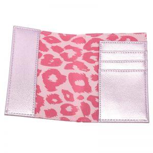 Paspoorthoesje VayCay roze binnenkant