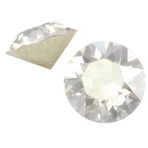 Puntsteen 5.2mm crystal silver