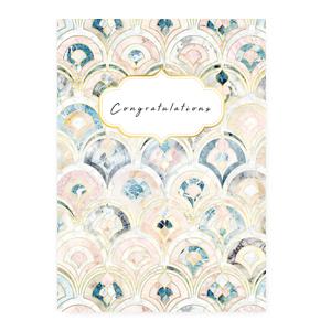 Sieraden wenskaart congratulations